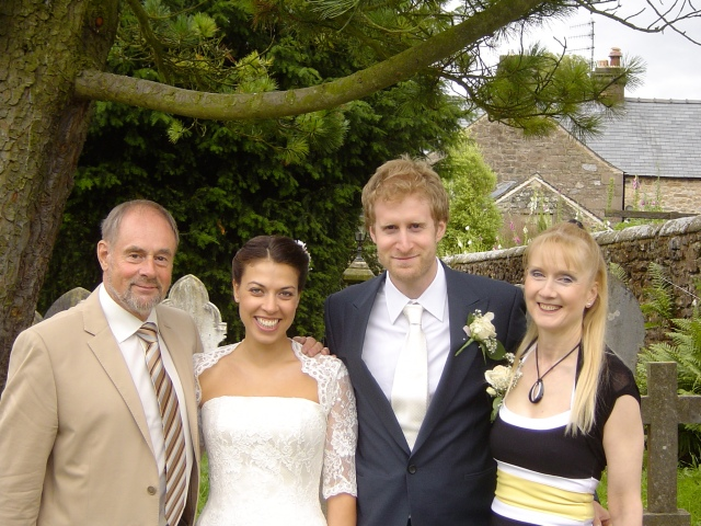 with James's parents
